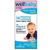 WELLBABY sirop 14 vitamine...