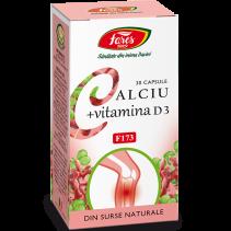 Calciu + Vitamina D3 F173...
