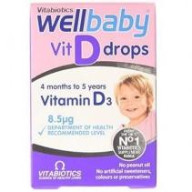 WellBaby Vit D Drops...