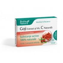 Goji extract + vitamina C...