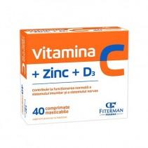 Vitamina C+Zn+D3 x 40...