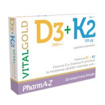 Vital Gold D3 + K2 x 40...