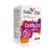 Solix Tab CaMgZn plus D3 x...